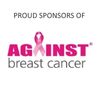 sponsors of against breast cancer